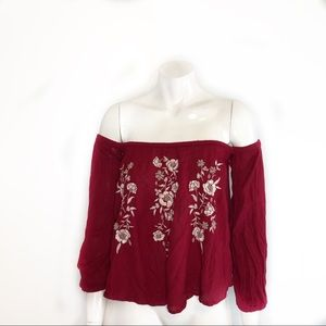 Abercrombie &Fitch size xs off the shoulder
